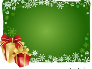 Free-Vector-Christmas-Gift-and-Background-580x435