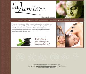 Welcome   La Lumiere Massage