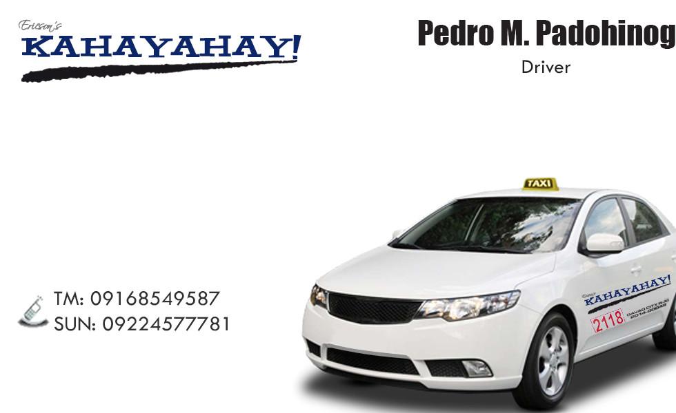 Kahayahay_Taxi_Calling_Card